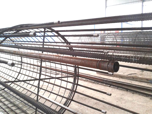 螺旋式樁基聲測管